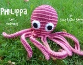 Philippa the pink octohug