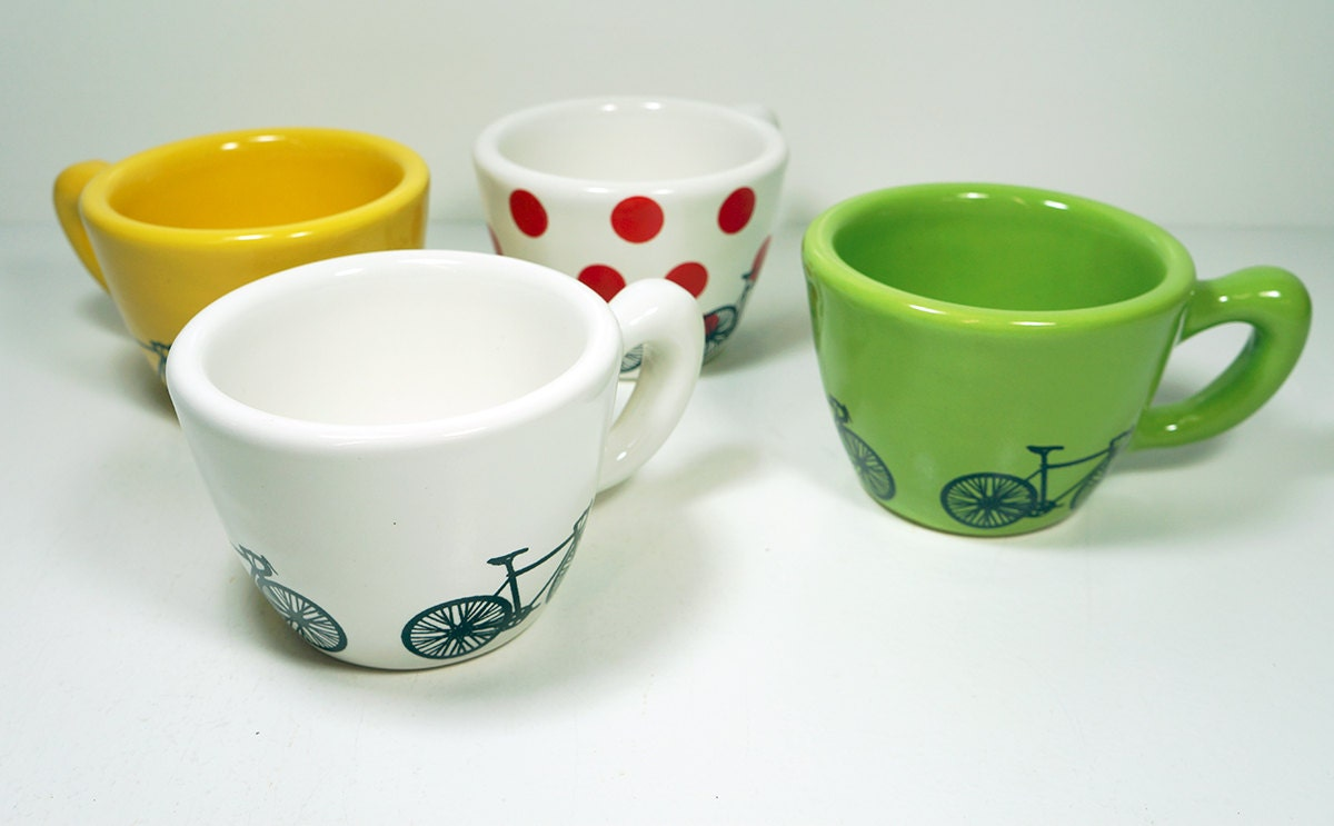 One single Tour de France themed 12oz cup, your choice / made to order