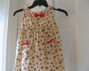 Dress Toddler Three years old Summer Dress handmade