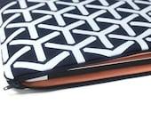 Women's MacBook Air Case 11, 13 inch Laptop Sleeve, MacBook Air Cover, MacBook with Retina Display Sleeve - Blue Trident