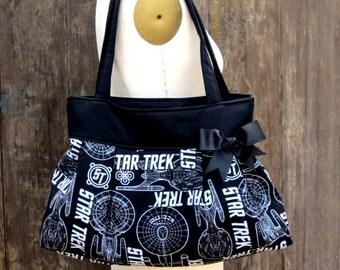 Star Trek Handbag, Star Trek Purse, Geek Purse