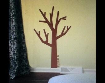 Thankful Tree vinyl decal - Thanksgiving vinyl decal