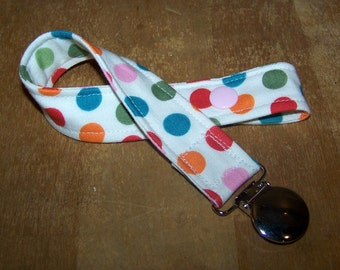 Pacifier Keeper Clip Binky Holder by Petunias