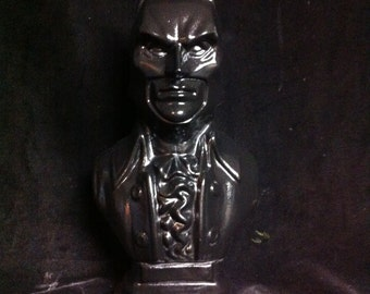 Gloss black  Batman Beethoven bust original sculpt and cast Baathoven