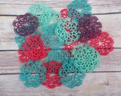 Spool Doilies Set of Two