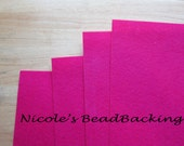 Nicoles BeadBacking 4 pack 12x9 Tropical Berry