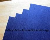 Nicoles BeadBacking 4 pack 12x9 The Royal Blues