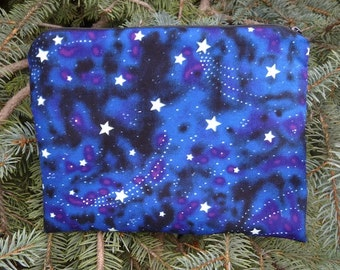 Stars Mah Jongg card and coin purse, Glow in the Dark Stars, The Slide