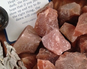 Natural Red Aventurine Healing Stone     Raw Aventurine Rough Stones Kwan Yin, Hope, Mercy, Compassion, The Have a Nice Day Stone