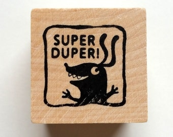 Super Duper - Monster rubber stamp for teachers
