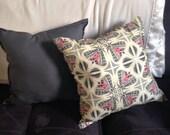 ONE Tiger Moth Print Throw Pillow