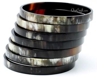 Horn Bangle Bracelet - Q9483