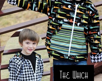 SALE - The Which Way Out Jacket Pattern - From Fishsticks - 8.00 Dollars