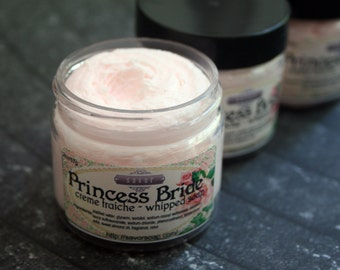 Whipped Soap Creme Fraiche Princess 2 oz Mini Trial Sample Size VEGAN