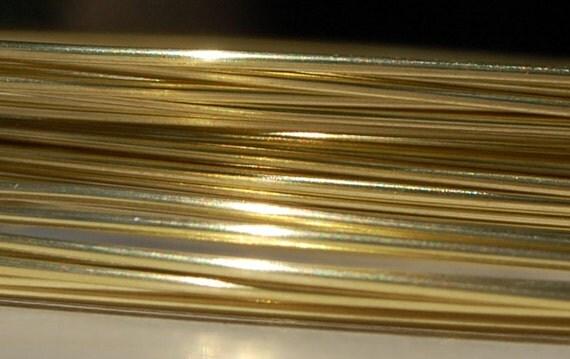 20 Gauge Brass, Dead Soft, 10 feet