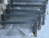 "Handbag Supplies Internal Flex Purse Metal Frame Handbag/Purse Metal Frame 9"" (23cm) Lot of 5"