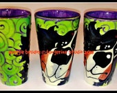 whimsical ceramic  hand painted bernese mountain dog mug love maggie brudos tangerine studio