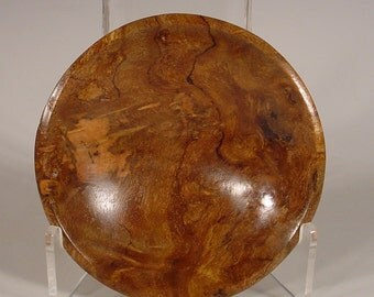 Spalted Philippine Ebony Burl Wood Bowl Turned Wooden Bowl Art Number 6010