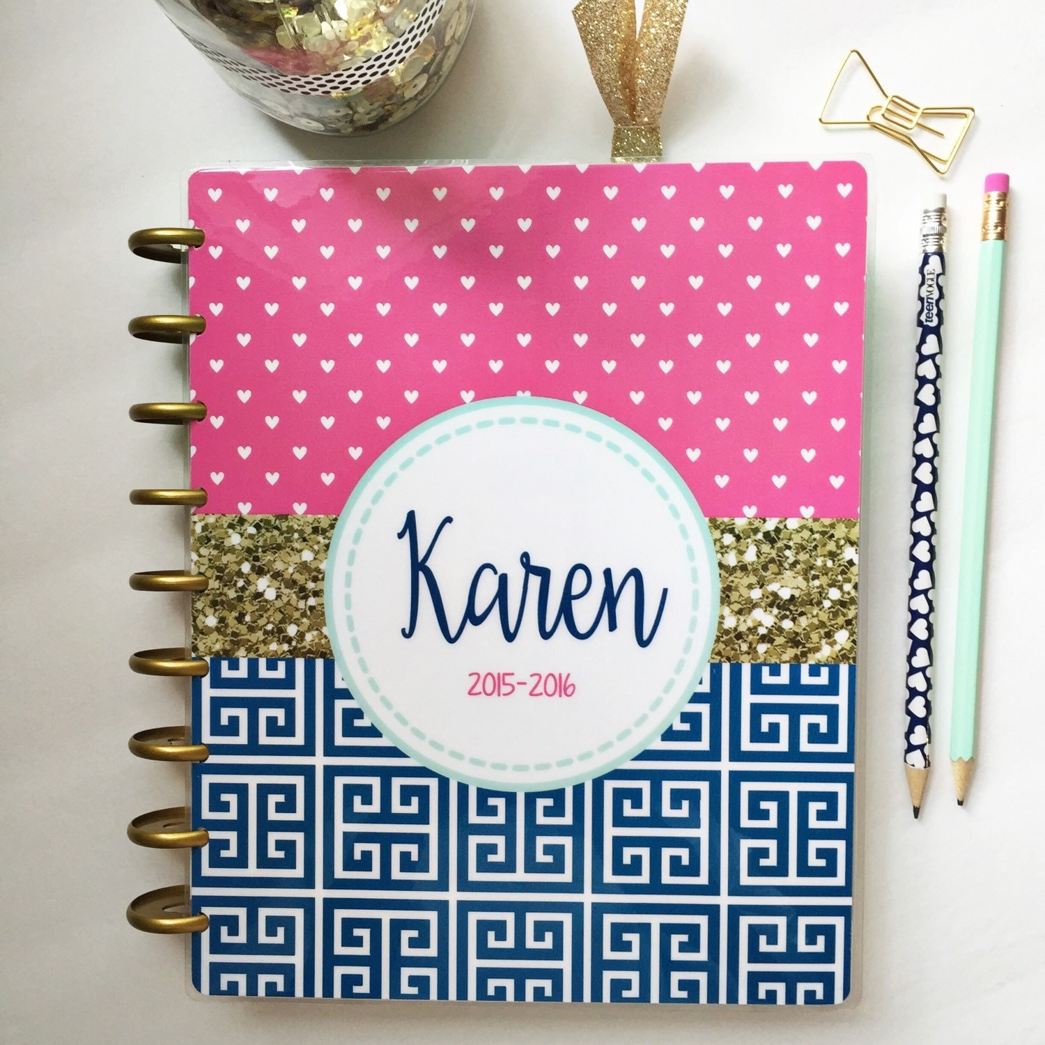 Classic or mini happy planner cover create 365 mambi planner for Happy planner ideas
