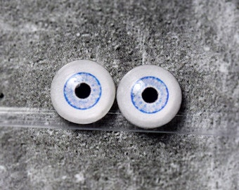 Doll eyes 6mm AD color Azure