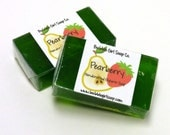 Pearberry Mini GUEST BAR SLS Detergent Free Handmade Glycerin Soap