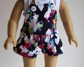 Summer Jump Suit-American Girl Doll Clothes with Tee