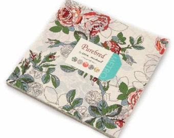 SALE 10 inch squares Layer Cake - PUREBRED Moda Fabric byErin Michael