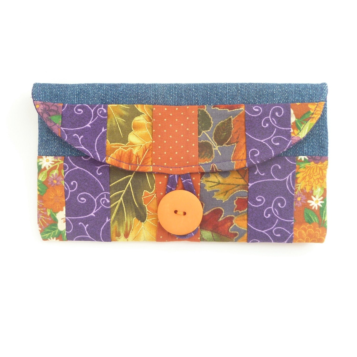 Pretty Checkbook Cover : On vacation coupon checkbook women wallet cute red orange