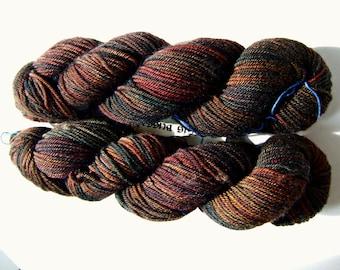 Sanguine Gryphon Zaftig Bugga Yarn - Oak Timberworm Worsted Weight