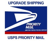Upgrade Shipping / Priority Mail / 2-3 days continental US