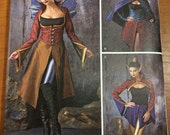 Dark Fairy Faeries Gothic Sewing Pattern Simplicity 1138 Sizes 14-16-18-20-22 Costume