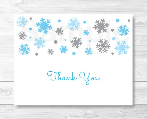 Custom Card Template » Baby Thank You Cards Template - Free Card