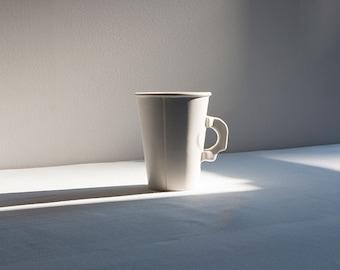 75% OFF - SECONDS SALE - Porcelain Paper Mug