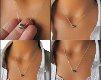 Mood Necklace, Color Changing Jewelry