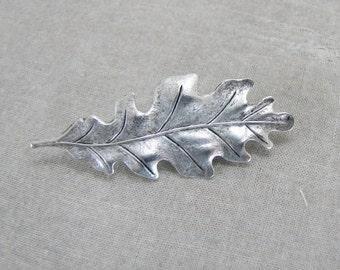 Oak Leaf Brooch Pin