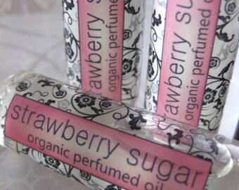 Strawberry Sugar Organic Perfumed Oil