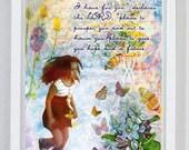 God Has A Plan, Scripture Art, Jeremiah 29:11, Religious Gift, Bible Verse, Christian Wall Art, Christian Art, Bible Art, Bible Print, Art
