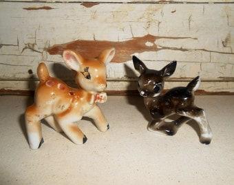 Vintage Ceramic Fawn Deer