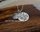 I'm A Toes In The Sand Kind Of Girl Necklace