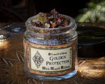 GOLDEN PROTECTION Resins of the Ancients . Old World Alchemy