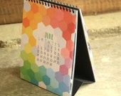 2016 Pieces and Patterns Desk Easel Calendar