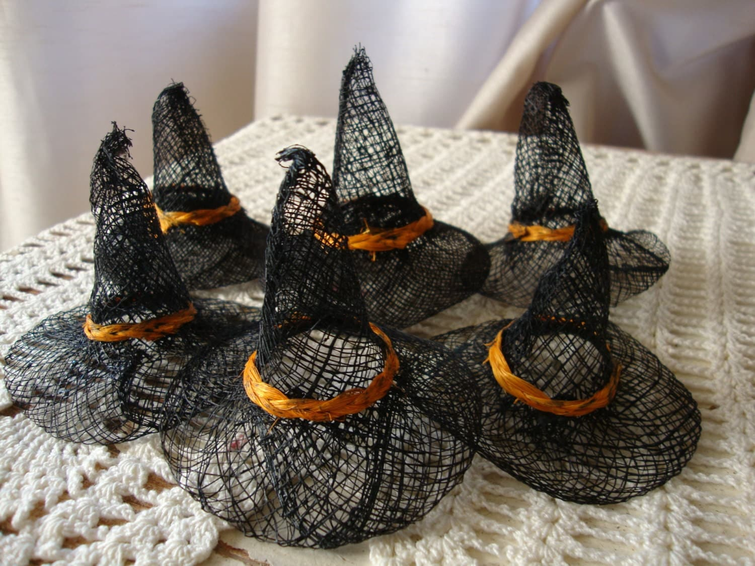 Burlap Witch Hat 3 Halloween Witches Hats Diy Home Decor