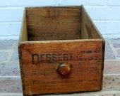 Antique Vintage Wooden Box Antique Vintage Wood Box Crate Drawer Antique Vintage Dessert Brand Pear Box