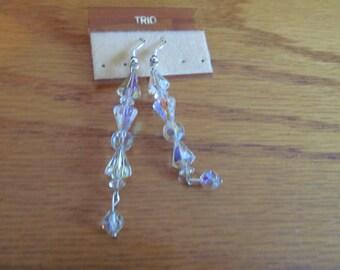 long crystal bead dangles