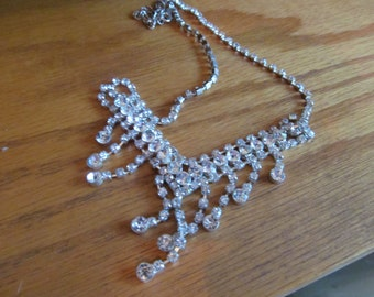 SPARKLY RHINESTONE NECKLACE