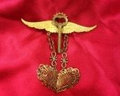 Flight of the Locked Heart - Broach Pin