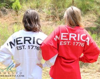 Personalized Preppy 'Merica Jersey