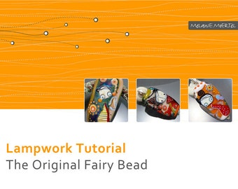 Lampwork Tutorial // Original Fairy Bead // Lampwork Beads // By Melanie Moertel