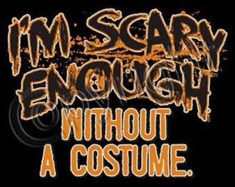 Men or Women T Tee Shirt Pumpkin Halloween Costume Small thru 3XL Plus Sizes Too FREE SHIPPING New Short Sleeve T
