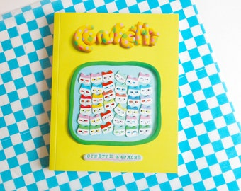 CONFETTI art book published by Koyama Press 200 pages !